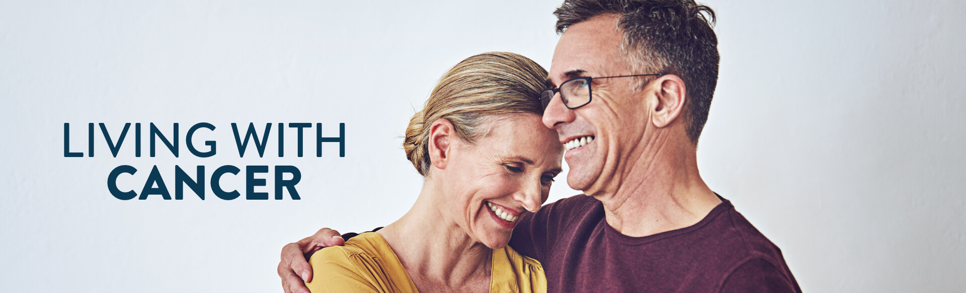 Living With Cancer banner