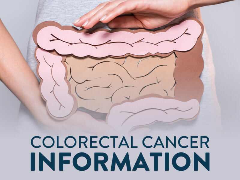 Colorectal Cancer Information banner