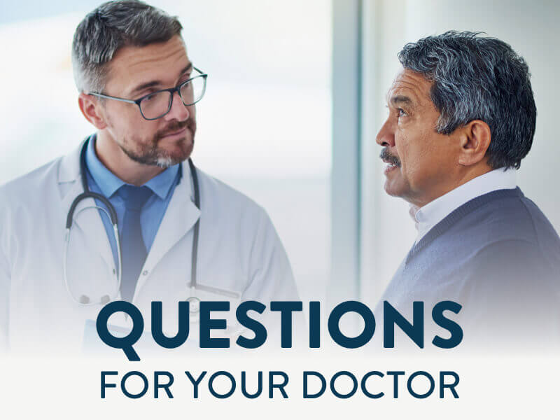 Questions For Your Doctor banner