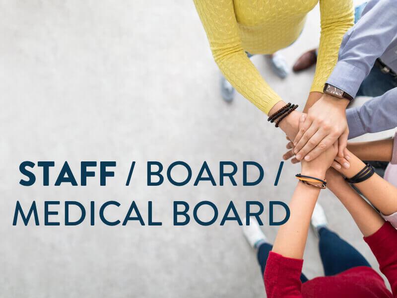 Staff / Board / Medical Board banner
