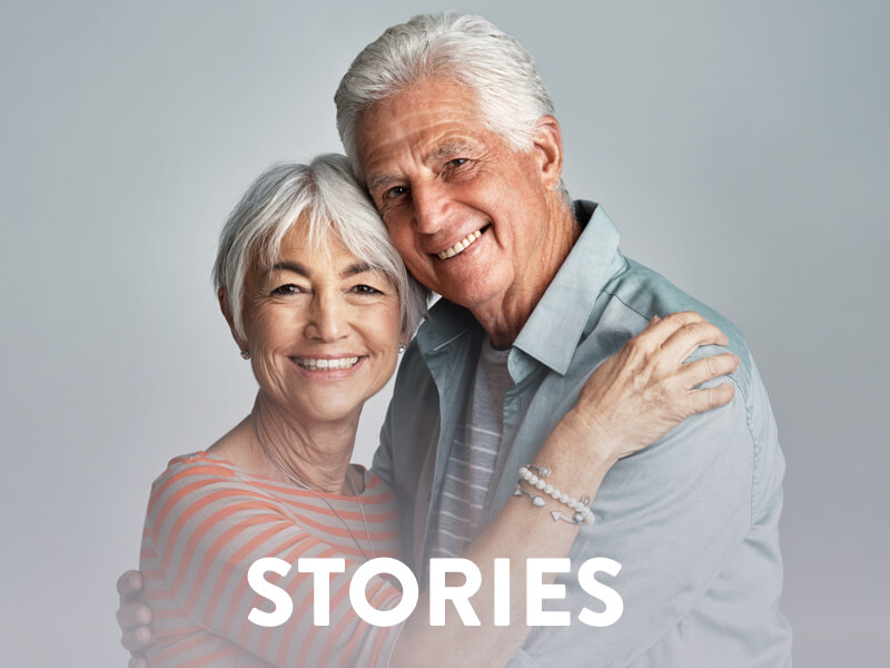 Colorectal Cancer Stories banner