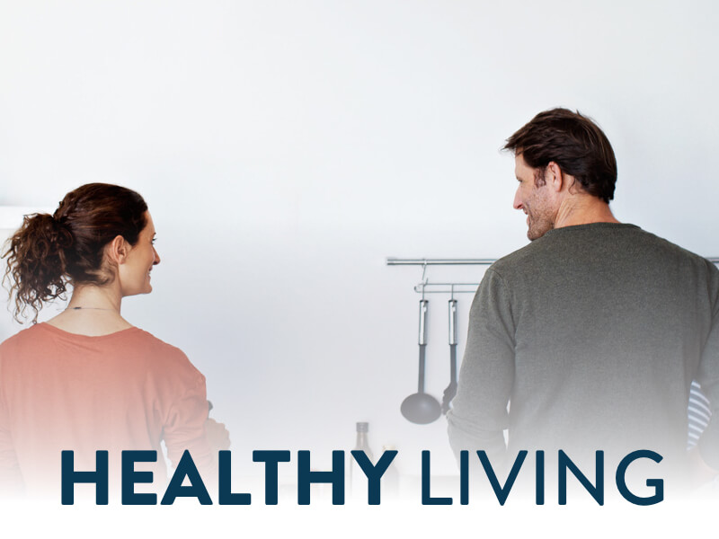 Healthy Living banner