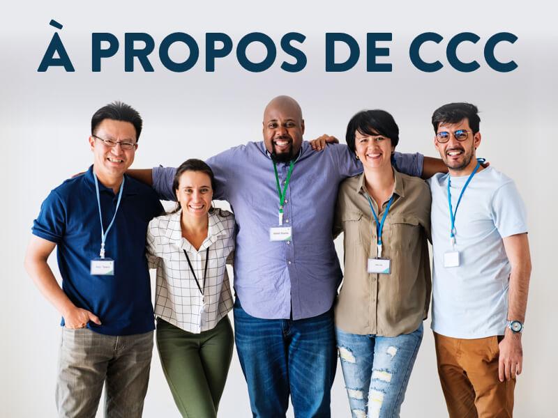 Bannière à propos de CCC