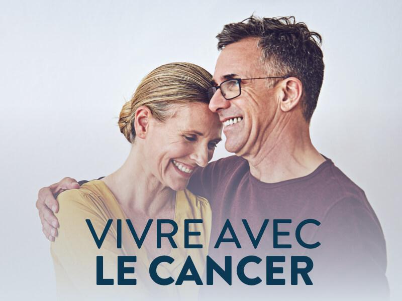 Bannière vivre avec le cancer